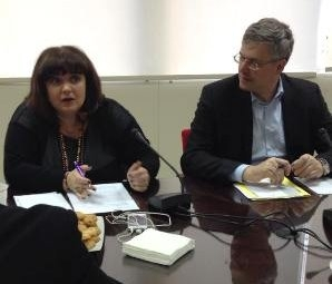 UNI Europa Regional Secretary Oliver Roethig meeting union leaders in #Greece discussing response to economic crisis